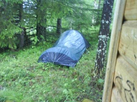 16 vårt tält