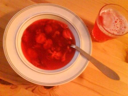 12 jordgubbskräm
